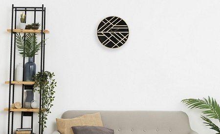 деревянные часы на стену
